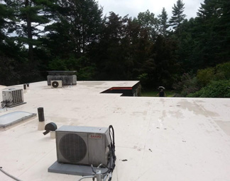 Roofing in Wakefield MA - Constitution Contracting - repair2