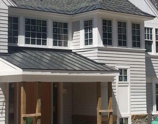 Residential Roofing Lowell MA: Metal & Cedar | Constitution Contracting - res1